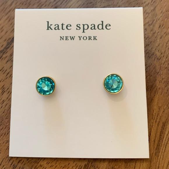 Kate Spade Aquamarine Studs